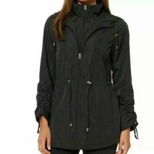 NWT Jones New York black weatherproof parka jacket